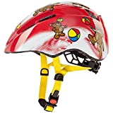 Uvex Kid 2 - Casco unisex, color rojo, talla 46-52