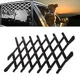 Qiuxiaoaa Haustier Hund Auto Fenster Leitplanke Retractable Schutzzaun Belüftung Safe Guard Mesh Vent Schutzzaun Outdoor New Large Vergleich