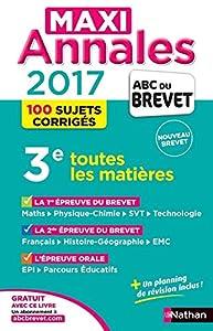 """Afficher """"Maxi-Annales ABC du Brevet"""""""