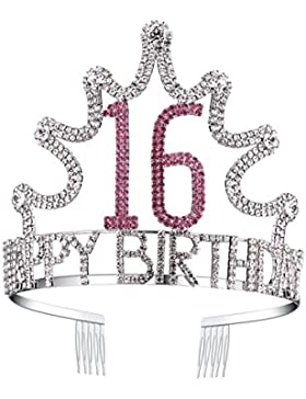 BABEYOND Tiara Birthday Corona