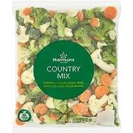 Morrisons Country Vegetable Mix, 1kg (Frozen)