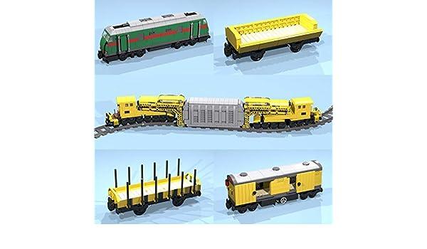 Heavy Transformer Transport Train: Lego(R) MOC building