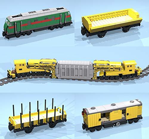 Heavy Transformer Transport Train: Lego(R) MOC building instructions (LEGO Train MOC plans Book 22) (English Edition) por E. Chaton