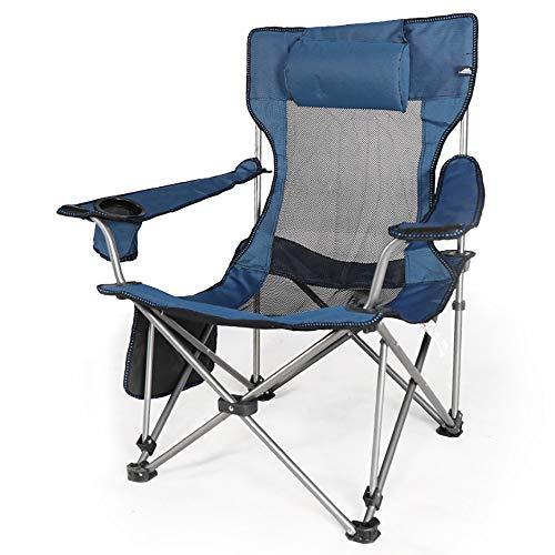 QWERTLH Faltender Kampierender Stuhl Tragbarer Ultralight Faltender Rucksackstühle In Einem Tragenden Beutel Kampierenden Stuhl