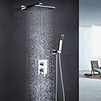 Tw Bagno lusso pioggia miscelatore doccia Combo Set parete 10