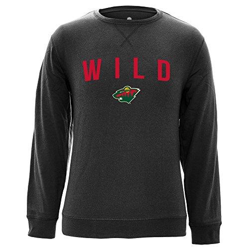 Levelwear LEY9R NHL City Crew OG Crewneck Sweatshirt, Herren, City Crew OG Crewneck Sweatshirt, Heather Charcoal, Small City Crewneck Sweatshirts