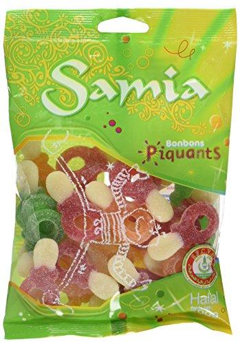 Samia Bonbons Sachet Tétines Piquantes 200 g - Lot de 5