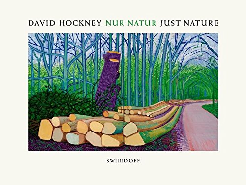 David Hockney · Nur Natur · Just Nature Buch-Cover