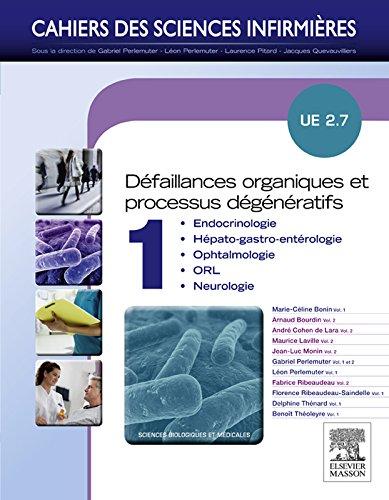 Dfaillances organiques et processus dgnratifs - Volume 1: UE 2.7