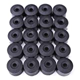 Wheel Nut Bolt Cap - TOOGOO(R) 20 Wheel Nut Bolt Cover Cap 17mm For Volkswagen Golf MK4 Passat Audi Beetle