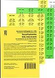 SteuerFachwirt/in - Wirtschaftsgesetze (BGB-HGB-GmbHG) Dürckheim-Griffregister Nr. 1705 mit Stichworten: 160 selbstklebende Griffregister BGB, HGB, GmbHG für Verlag C.H. Beck oder nwb-Textsammlung