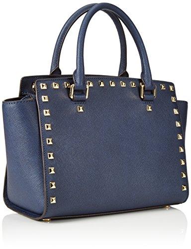 406 Kors Studded Navy Selma Handtaschen Michael Damen Blau 26x16x8 cm z4qd1dngx