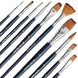 MozArt Supplies Paint Brush Sets
