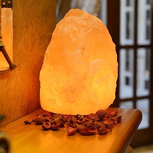 Lampade di sale hanno una guarigione naturale cristallo di quarzo naturale e dell' interruttore British Standard spina elettrica 100% qualità lampada di sale