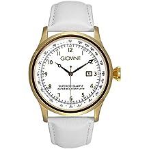 Reloj cuarzo para hombre Giovine Casanova Tempo OGI004/T/L/YG/BN/BN