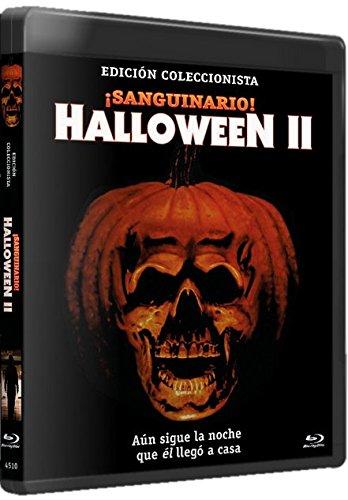 Halloween II ¡Sanguinario! BD Edición Especial 1981 Halloween 2 [Blu-ray]