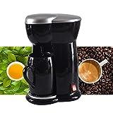 Fantiff Mini tragbare elektrische Kaffeemaschine einzelne Tasse Kaffeemaschine 1-Tassen-Kaffeemaschinen