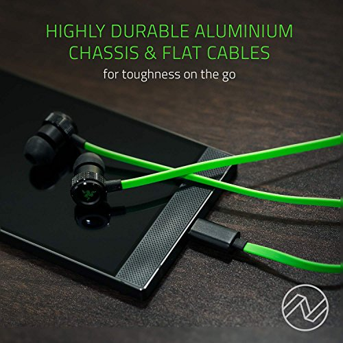 Razer Hammerhead USB-C Gaming In-Ear Kopfhörer (mit USB-C Anschluss, geeignet für das Razer Phone) grün - 4