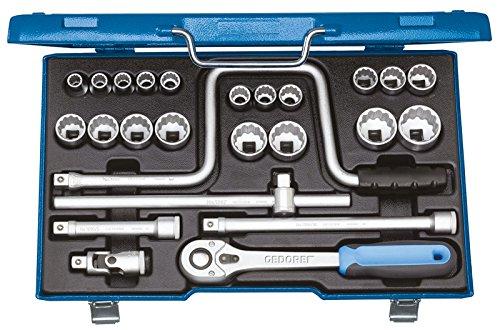 GEDORE D 19 TMU-10 Steckschlüssel-Satz 1/2″ 25-TLG 10-32 mm