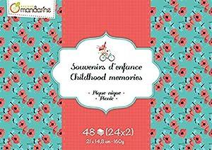 Avenue Mandarine-cc035C-Bloque de Recuerdos de Infancia de 48Hojas-Tema Picnic