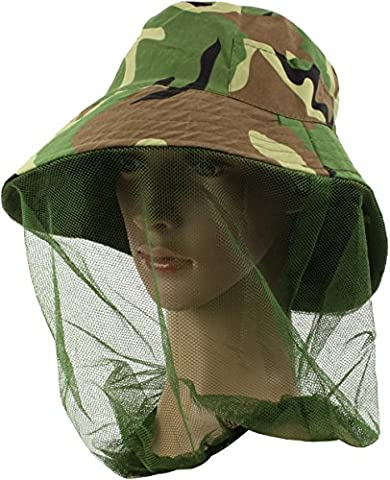 Camouflage Hut mit Moskito