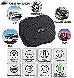 GPS Tracker , 5000MAH GPS Ortung, Wasserdicht Echtzeit tracking GPS Locator Professional Anti-verloren GPS Alarm Car Tracker für Auto lkw Moto Gefrier Boot mit freier APP