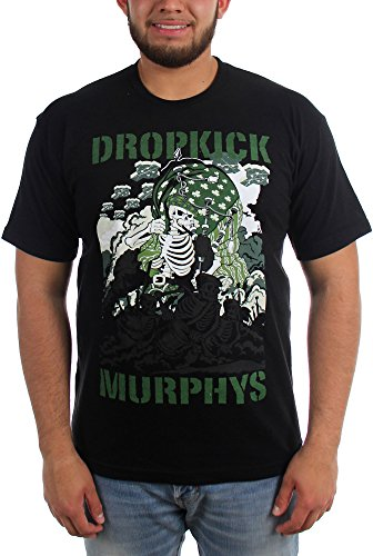 Dropkick Murphys -  T-shirt - Uomo nero Medium