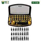 Best Tool–BST-392166°C–Portable Universal Magnetic Screwdriver Tool Set–Aluminium, with Storage Box–For Smart Phone/Laptop/Camera/Watches/Computer/Printer Repair–32Pieces - Best Reviews Guide
