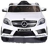 Mercedes Kinderauto GLA 45 AMG/Elektroauto / Spielzeug für Kinder Kinderfahrzeug (weiß)