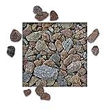 10 kg Lava Splitt Pflanzgranulat Schneckenschutz Lavastein Lavasteine Aquarium Dachbegrünung Lavagranulat Körnung 16/32 mm