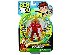 Ben 10 BEN01210 Heatblast Deluxe Power Up - Figura Decorativa, Multicolor