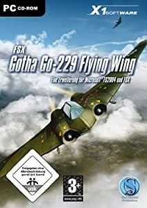 Gotha Go-229 Flying Wing - Add On für Microsoft FSX und FS2004 (PC) [import allemand]