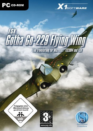 Koch Media GmbH Gotha Go-229 Flying Wing - Add On für Microsoft FSX und FS2004 (PC)