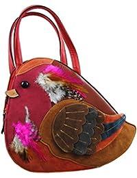 Novedad Forma De Robin Ladies bolso/bolsa de hombro