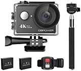 Action Cam, DBPOWER 4K Sports Action Kamera WIFI 2.0 Zoll FHD LCD Display Wasserdicht Helmkamera mit...