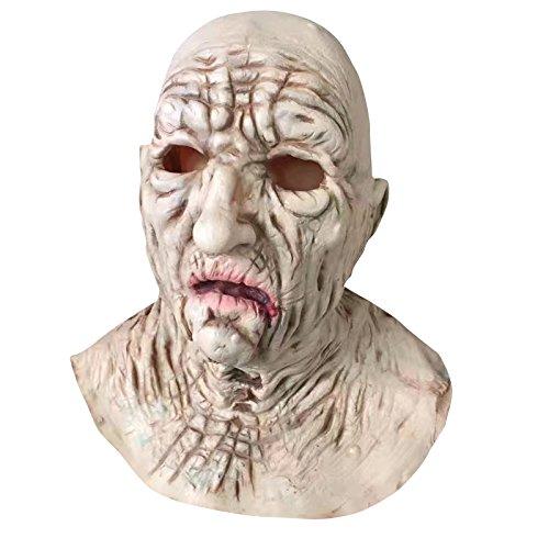 pa Greis #2 Maske - perfekt für Fasching, Karneval & Halloween - Kostüm für Erwachsene - Latex, Unisex Einheitsgröße (Lustige Alte Frau Kostüm)