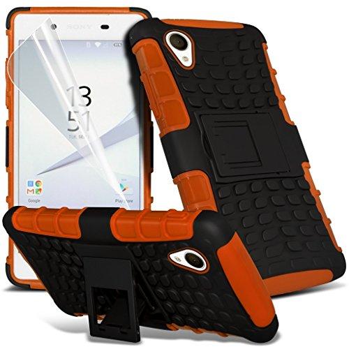 sony-xperia-xa-case-orange-cover-for-sony-xperia-xa-high-quality-alligator-style-ultra-armor-tough-d