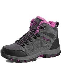 66a5d5b343eedf LiYa Winterschuhe Herren Damen Warm Gefüttert Wanderschuhe Winter Outdoor  Trekking Boots