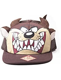 Casquette 'Looney Tunes' - Taz Face Trucker Snap Back Brown
