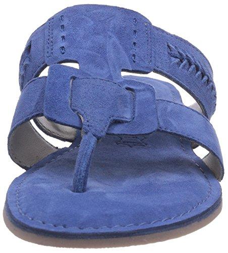 Marc Shoes 1.667.06-22/740-nera, Chaussures de Claquettes femme Bleu - Blau (denim 740)