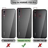 GeeMai Coque Huawei P20 Pro, Flip Coque Premium avec emplacement de cartes pour Huawei P20 Pro Smartphone.Bleu
