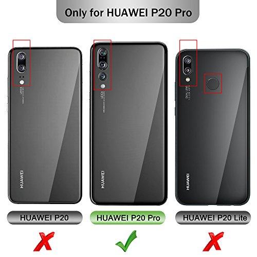Huawei P20Plus Coque, Ibetter haute qualité magnétique Flip Coque bien Gamme complète protection Sale résistant aux touches Mécaniques avec fonction support pour Huawei P20Plus Smartphone
