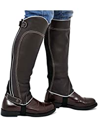 Riders Trend Full Grain Leather Gaiter - , color marrón, talla Medium