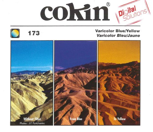 Bargain Cokin Z173 Varicolour Blue/Yellow Square Filter