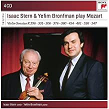 Stern and Bronfman Play Violin Concertos