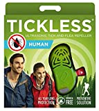 Tickless Sonicguard Umano a Ultrasuoni Zecca e Antipulci Repellente per Adulti - Verde