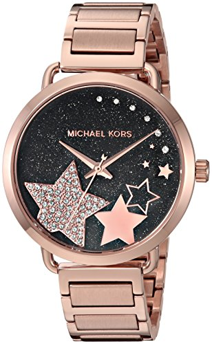 Michael Kors Femme Analogique Quartz Montre avec Bracelet en Acier Inoxydable MK3795