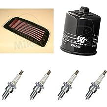K & N ngk Mantenimiento Set Yamaha YZF R1100002–03Service Kit