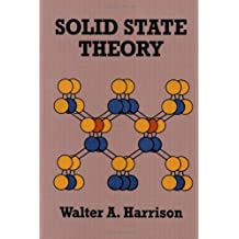 Solid State Theory (Dover Books on Physics) by Walter A. Harrison (1980-05-01)