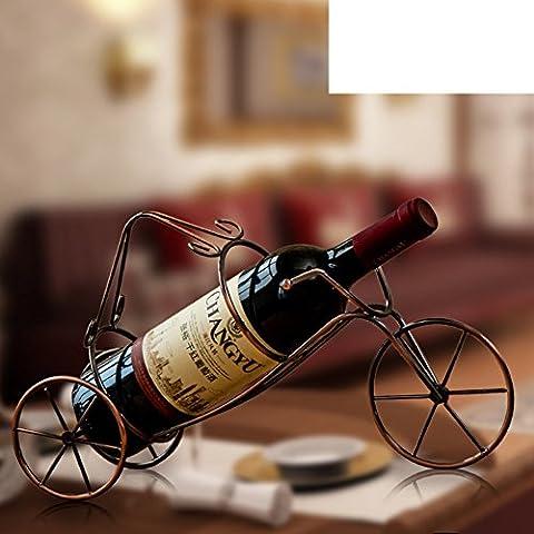 American Vintage En Fer Forgé Maison Ornements/Bouteille De Vin/Restaurant Liquor Armoire Casier à